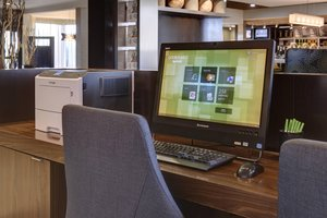 Conference Area - Courtyard by Marriott Hotel Airport Indianapolis
