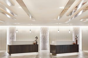 Lobby - Marriott Hotel LAX Airport Los Angeles