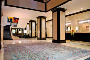 Lobby - Marriott Hotel Financial Center New York
