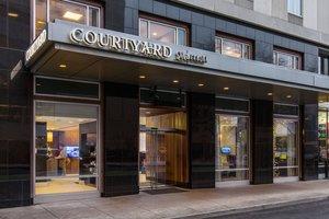 Exterior view - Courtyard by Marriott Hotel Portland City Center