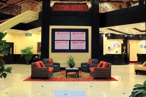Lobby - Marriott Hotel St Petersburg
