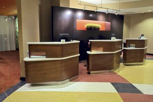 Lobby - Courtyard by Marriott Hotel Downtown Silver Spring