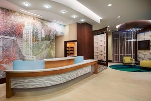 Lobby - SpringHill Suites by Marriott Downtown Houston