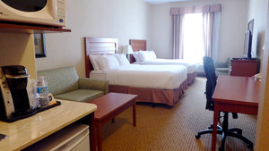 Room - Holiday Inn Express Hotel & Suites Grande Prairie