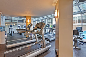 Fitness/ Exercise Room - Crowne Plaza Hotel O'Hare Airport Rosemont