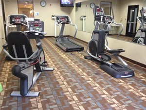 Fitness/ Exercise Room - Holiday Inn Express Hotel & Suites Bridgeport