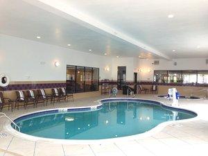 Pool - Holiday Inn Express Hotel & Suites Bridgeport