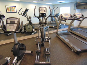 Fitness/ Exercise Room - Holiday Inn Express Hotel & Suites Springville