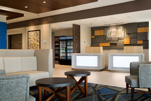 Lobby - Holiday Inn Express Hotel & Suites Downtown Omaha