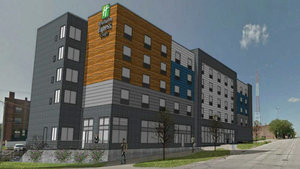 Exterior view - Holiday Inn Express Hotel & Suites Downtown Omaha