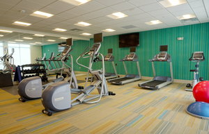 Fitness/ Exercise Room - Holiday Inn Express Hotel & Suites I Street Omaha