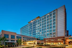 Exterior view - Marriott Hotel Downtown Indianapolis