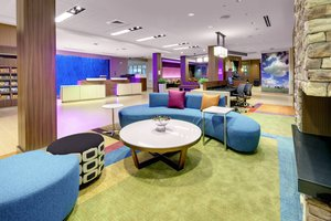Lobby - Fairfield Inn & Suites by Marriott Tunnel Road Asheville