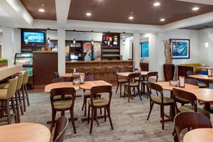 Restaurant - Courtyard by Marriott Hotel Portsmouth