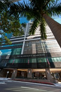 Exterior view - JW Marriott Marquis Hotel Miami