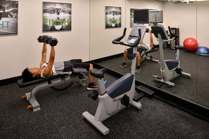 Fitness/ Exercise Room - Holiday Inn Express Hotel & Suites Hotel Circle San Diego