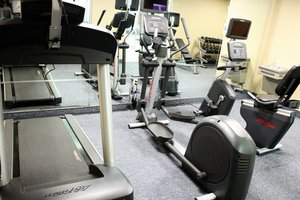 Fitness/ Exercise Room - Holiday Inn Express Hotel & Suites St Cloud