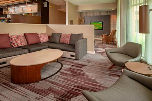 Lobby - Courtyard by Marriott Hotel Rockville