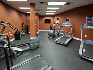 Fitness/ Exercise Room - Crowne Plaza Hotel North Highlands