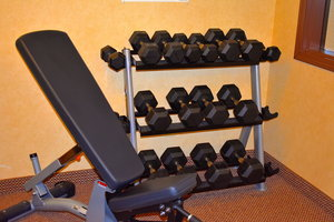 Fitness/ Exercise Room - Holiday Inn Express Hotel Warners