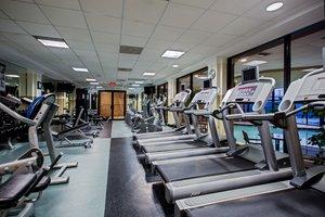 Fitness/ Exercise Room - Crowne Plaza Hotel Newark Airport Elizabeth