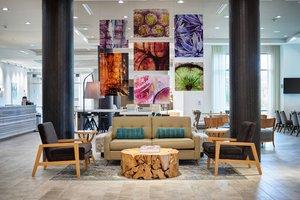 Lobby - Courtyard by Marriott Hotel Downtown El Paso