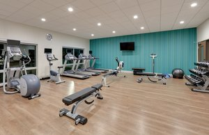 Fitness/ Exercise Room - Holiday Inn Express Hotel & Suites Northwest Dallas
