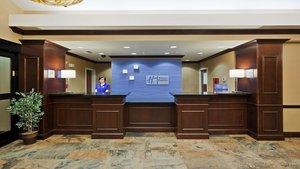Lobby - Holiday Inn Express Hotel & Suites Airport Great Falls