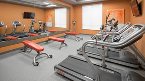 Fitness/ Exercise Room - Holiday Inn Express Hotel & Suites Davenport