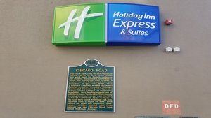 Exterior view - Holiday Inn Express Hotel & Suites Detroit