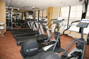 Fitness/ Exercise Room - Holiday Inn Express Hotel & Suites Detroit