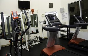 Fitness/ Exercise Room - Holiday Inn Express Hotel & Suites Lethbridge