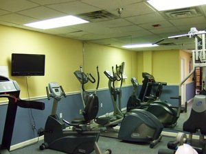 Fitness/ Exercise Room - Harbour Beach Resort Daytona Beach