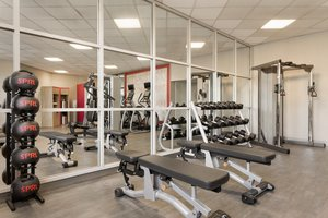 Fitness/ Exercise Room - Crowne Plaza Hotel Auburn Hills