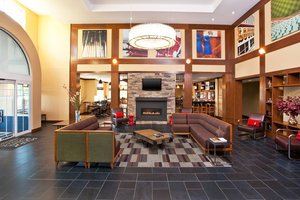 Lobby - Four Points by Sheraton Hotel Louisville Airport