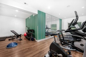 Fitness/ Exercise Room - Holiday Inn Express Hotel & Suites Conroe