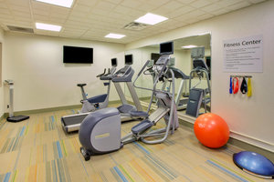 Fitness/ Exercise Room - Holiday Inn Express Hotel & Suites Fort Wayne