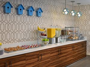 Restaurant - Sonesta ES Suites Perimeter Center Montgomery