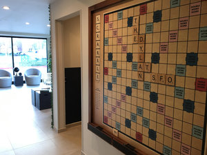 Lobby - Dylan Hotel at SFO Airport South Millbrae