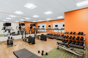 Fitness/ Exercise Room - Holiday Inn Express Hotel & Suites Union Gap