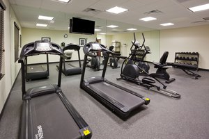 Fitness/ Exercise Room - Holiday Inn Express Hotel & Suites North Davenport