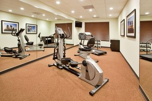 Fitness/ Exercise Room - Holiday Inn Express Hotel & Suites Lake Lanier Buford