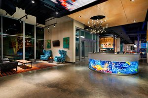Lobby - Aloft Hotel Downtown Columbia