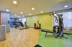 Fitness/ Exercise Room - Holiday Inn Express Airport Romulus