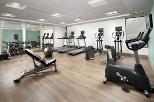 Fitness/ Exercise Room - Holiday Inn Express Lawrence