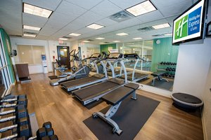 Fitness/ Exercise Room - Holiday Inn Express Hotel & Suites South Tulsa