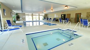 Pool - Holiday Inn Express Hotel & Suites Delafield