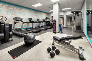 Fitness/ Exercise Room - Crowne Plaza Hotel Market Center Dallas