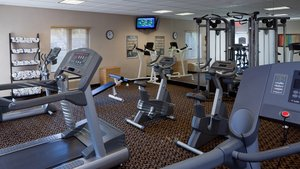 Fitness/ Exercise Room - Holiday Inn Express Hotel & Suites Saginaw