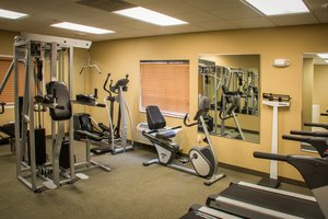 Fitness/ Exercise Room - Candlewood Suites Airport South Bend